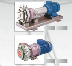 Magnetkupplungs-Pumpe AC   (Kunststoffausgekleidet)